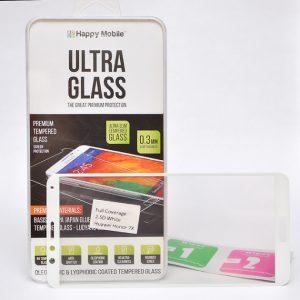 Защитное стекло 2.5D (3D) Full Cover на весь экран для Huawei Honor 7X — White