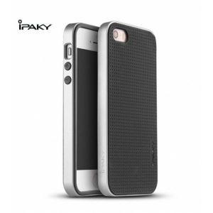Чехол iPaky TPU+PC для Apple iPhone 5/5S/SE Черный / Серебряный