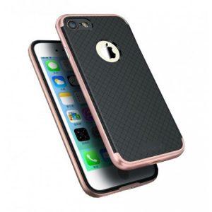 "Чехол iPaky TPU+PC для Apple iPhone 7 / 8 (4.7"") Черный / Rose Gold"