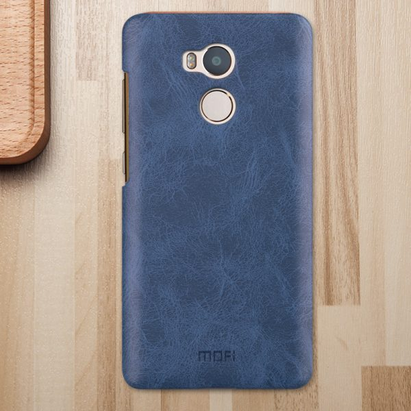 Пластиковая накладка бренда Mofi для Xiaomi Redmi 4 Pro/4 Prime (Blue)