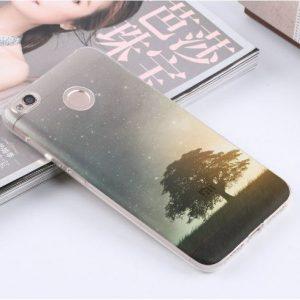 TPU чехол Kind для Xiaomi Redmi 4X (Дерево)