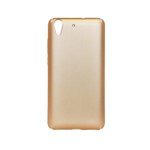 Пластиковая накладка soft-touch с защитой торцов Joyroom для Huawei Y6 II (Gold)