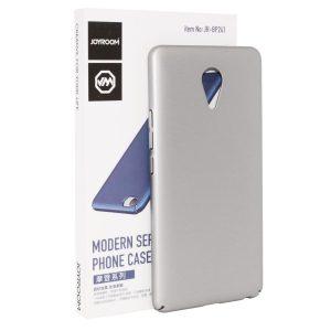 Пластиковая накладка soft-touch с защитой торцов Joyroom для Meizu M3 Max silver