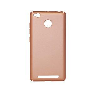 Пластиковая накладка soft-touch с защитой торцов Joyroom для Xiaomi Redmi 3 Pro / Redmi 3s (Pink)