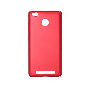Пластиковая накладка soft-touch с защитой торцов Joyroom для Xiaomi Redmi 3 Pro / Redmi 3s (Red)