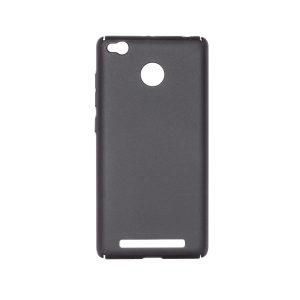 Пластиковая накладка soft-touch с защитой торцов Joyroom для Xiaomi Redmi 3 Pro / Redmi 3s (Black)