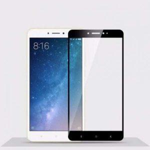 Цветное защитное стекло 2.5d full cover (на весь экран) для Xiaomi Mi 5s Plus (black)