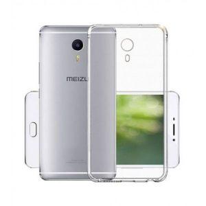 Прозрачный силиконовый TPU чехол  для Meizu M3 Max
