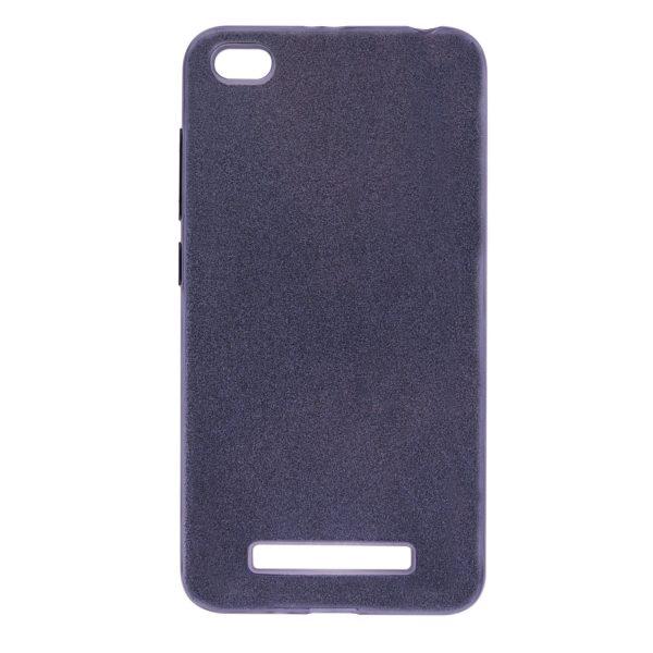 Силиконовый чехол бампер с блестками shine для xiaomi redmi 4а (Gray)