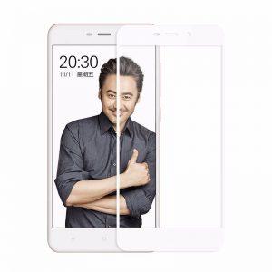 Защитное стекло 3D / 5D / 9D Full Glue Armor Glass на весь экран для Xiaomi Redmi 4A – White