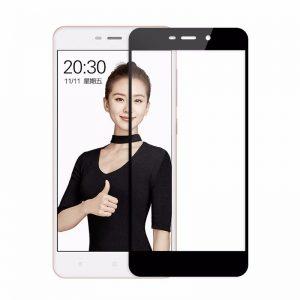 Защитное стекло 3D / 5D / 9D Full Glue Armor Glass на весь экран для Xiaomi Redmi 4A – Black