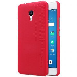 Пластиковый чехол Nillkin Matte для Meizu M5s + пленка (red)