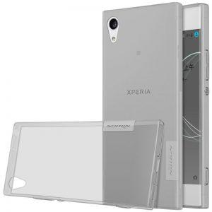 TPU чехол Nillkin Nature Series для Sony Xperia XA1 / XA1 Dual (Серый (прозрачный)