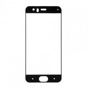 Цветное защитное стекло 2.5d full cover (на весь экран) для Xiaomi Mi 6 (Black)