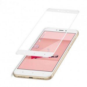 Защитное цветное стекло Mocolo (CP+) на весь экран для Xiaomi Redmi 4X Белый