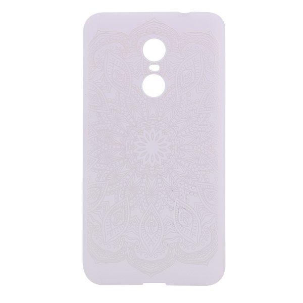 TPU чехол матовый soft touch для Xiaomi Redmi Note 4X / Note 4 (SD) Узор Белый