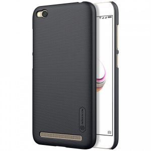 Пластиковый чехол Nillkin Matte для Xiaomi Redmi 5A / Redmi Go + пленка (Черный)