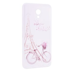 TPU чехол Cute Print для Meizu M5 (Sweet Paris)