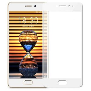 Защитное стекло 2.5D (3D) Full Cover на весь экран для Meizu Pro 7 — White