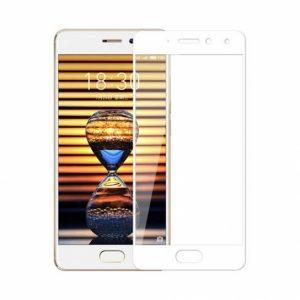 Защитное стекло 2.5D (3D) Full Cover на весь экран для Meizu Pro 7 Plus — White