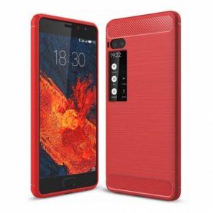Cиликоновый (TPU) чехол Slim Series для Meizu Pro 7 Plus (Красный)