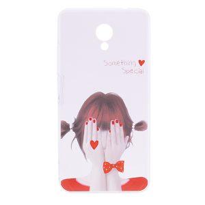 TPU чехол Cute Print для Meizu M5 Note (Girl (heart))