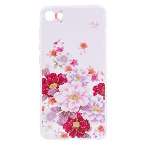 TPU чехол Cute Print для Meizu U10 (Flowers)