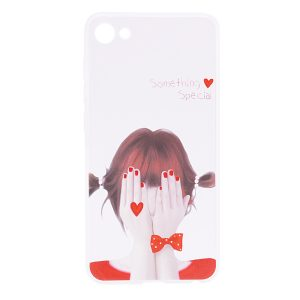 TPU чехол Cute Print для Meizu U10 (Girl (heart)