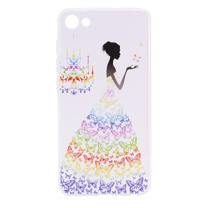 TPU чехол Cute Print для Meizu U10 (Girl (Butterfly dress)