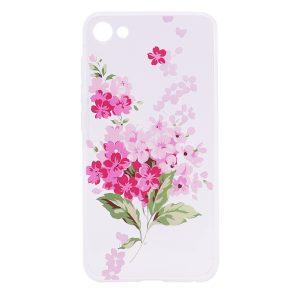 TPU чехол Cute Print для Meizu U10 (Флокс (Pink))