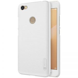 Пластиковый чехол Nillkin Matte для Xiaomi Redmi Note 5A Prime / Redmi Y1 + пленка (Белый)
