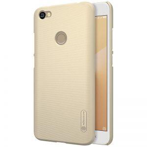 Пластиковый чехол Nillkin Matte для Xiaomi Redmi Note 5A Prime / Redmi Y1 + пленка (Золотой)