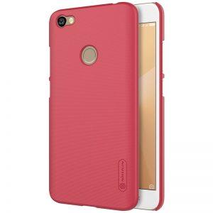 Пластиковый чехол Nillkin Matte для Xiaomi Redmi Note 5A Prime / Redmi Y1 + пленка (Красный)