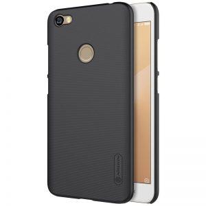 Пластиковый чехол Nillkin Matte для Xiaomi Redmi Note 5A Prime / Redmi Y1 + пленка (Черный)