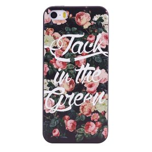 TPU чехол OMEVE Pictures для Iphone 5 / 5s / 5c /SE – Jack in the green