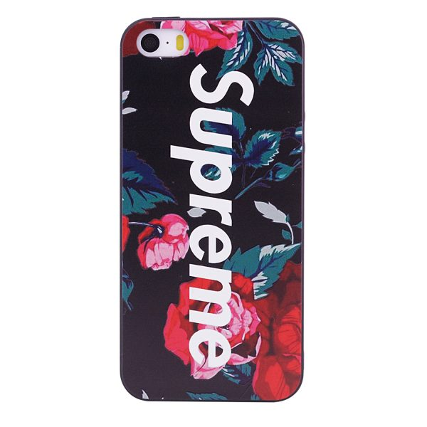 TPU чехол OMEVE Pictures для Apple iPhone 5/5S/SE Supreme