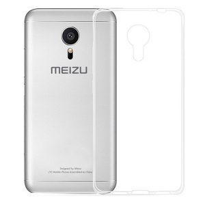 Прозрачный силиконовый TPU чехол  Meizu M3 / M3 mini / M3s
