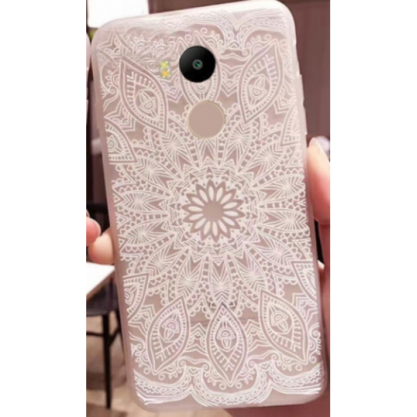 TPU чехол матовый soft touch для Xiaomi Redmi 4 Pro / Redmi 4 Prime (Узор Белый)