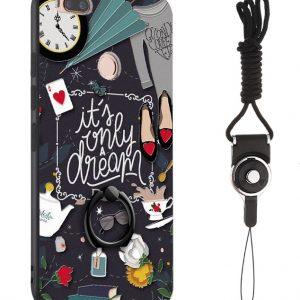 "TPU чехол тематический с кольцом для Apple iPhone 7 / 8 (4.7"") Чаепитие"