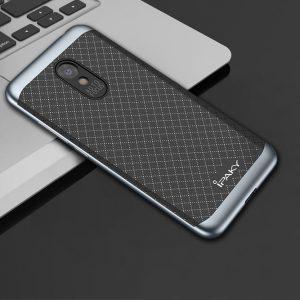 Чехол iPaky TPU+PC для Meizu M6 (Черный / Серый)