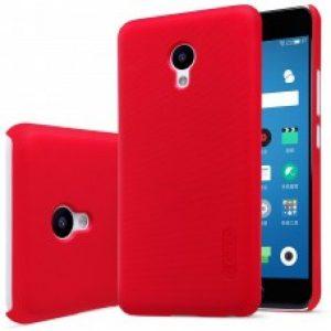 Пластиковый чехол Nillkin Matte для Meizu M6 + пленка (Красный / Red)