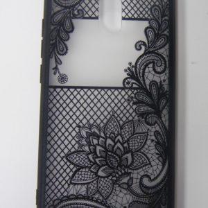 TPU+PC Чехол (накладка) Meizu M6, Rock Tatoo Art (magic flower)