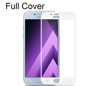 Защитное стекло 2.5D (3D) Full Cover на весь экран для Samsung Galaxy A3 2017 (A320) – White