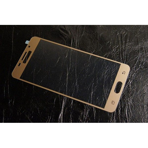 Защитное стекло 2.5D CP+ на весь экран (цветное) для Samsung A510F Galaxy A5 (2016) Gold