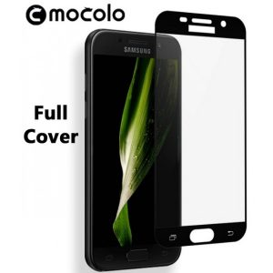 Защитное стекло 2.5D (3D) Mocolo Full Cover на весь экран для Samsung Galaxy A5 2017 (A520) – Black