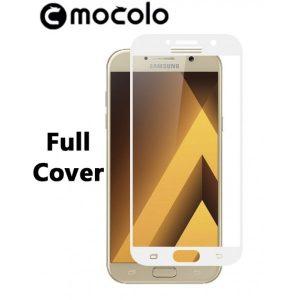 Защитное цветное стекло Mocolo (CP+) на весь экран для Samsung A520 Galaxy A5 (2017) White
