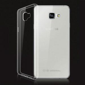 Силиконовый прозрачный чехол Ultrathin Series 0,33mm для Samsung Galaxy A7 2016 (A710)