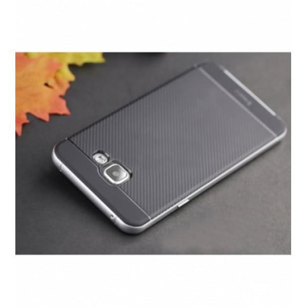 Чехол iPaky TPU+PC для Samsung Galaxy A7 2016 (A710) Черный / Серебряный