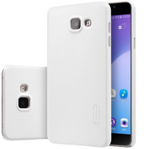 Пластиковый чехол Nillkin Matte для Samsung A710 Galaxy A7 2016  (Белый)