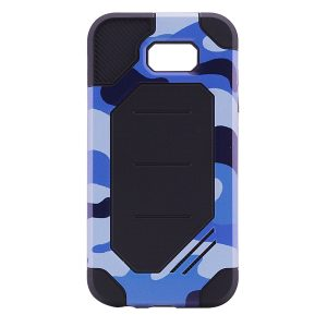 TPU+PC чехол MOTOMO (Military) для Samsung A720 Galaxy A7 (2017) Синий / Камуфляж